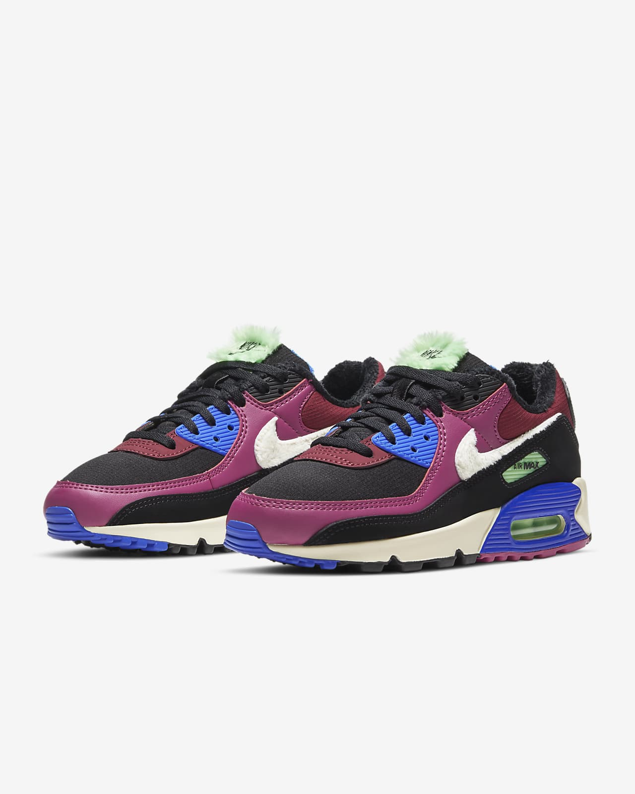 nike air max 90 size 8 purple
