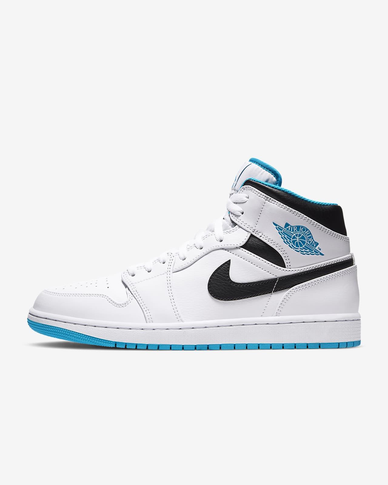 air jordan 1 azules y blancas