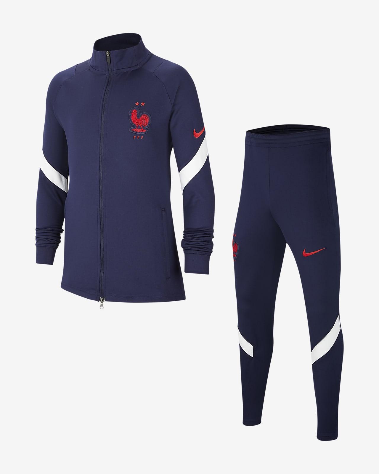 FFF Strike Fußball-Trainingsanzug für ältere Kinder