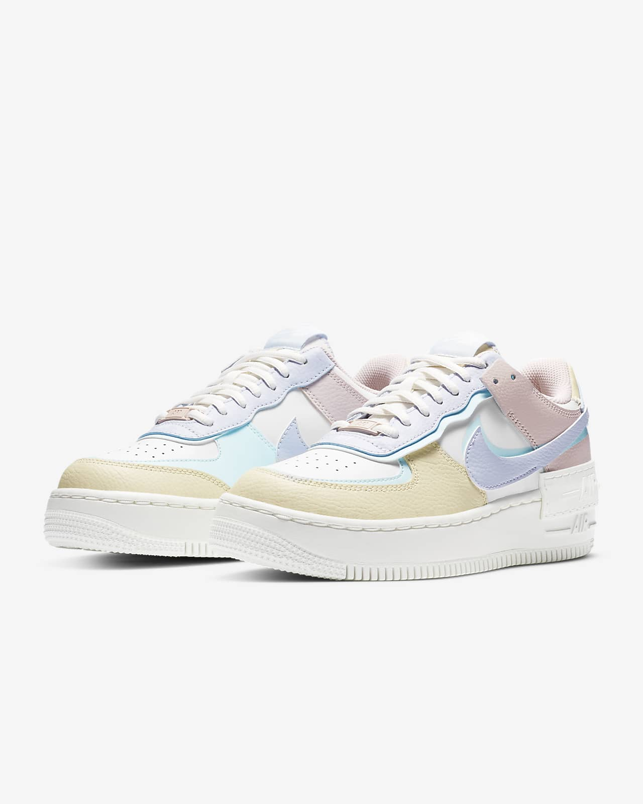 nike air force 1 shadow - mujer zapatillas blancas