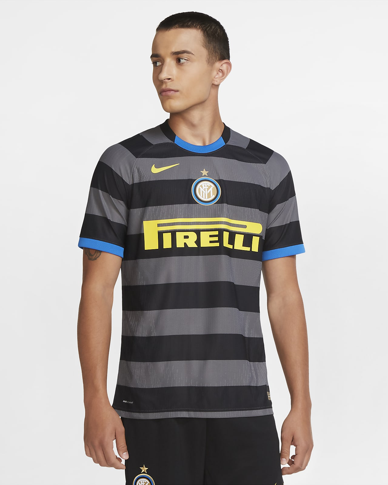 Inter Milan 2020/21 Vapor Match Derde Voetbalshirt voor heren