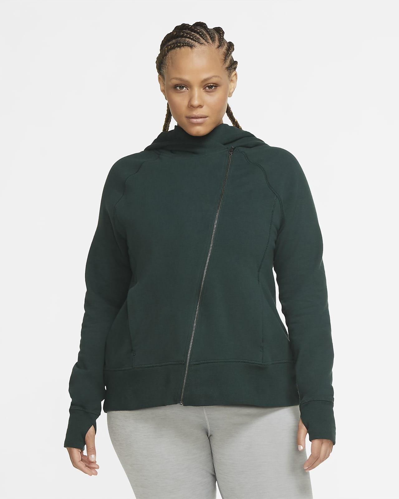 Nike Yoga Women's Full-Zip Hoodie (Plus Size)