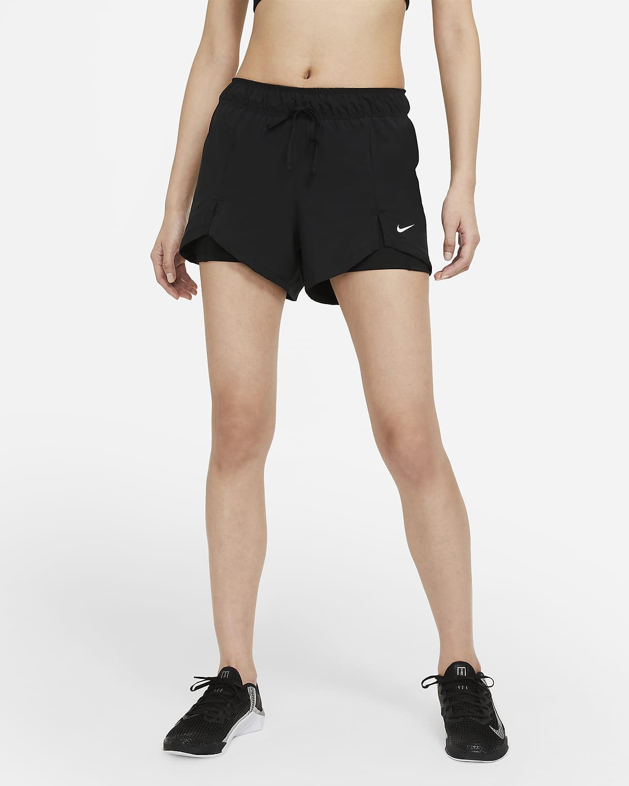 Nike Flex Essential 2-in-1 女款訓練短褲