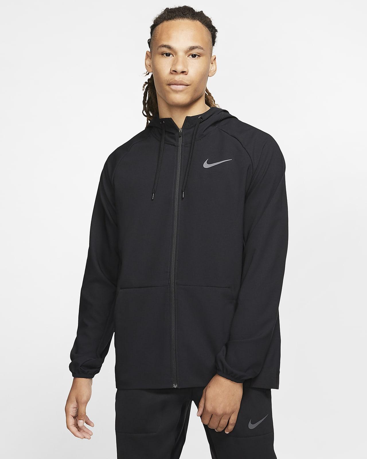 Nike Flex Tam Boy Fermuarlı Erkek Antrenman Ceketi