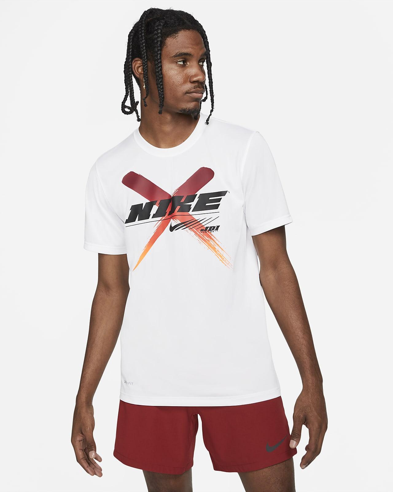 Pánské tréninkové tričko Nike Dri-FIT s grafickým motivem
