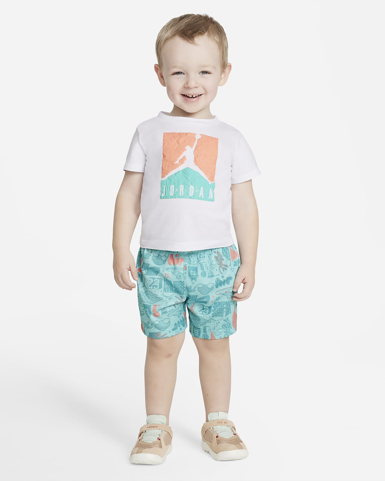 Jordan Baby (12-24M) T-Shirt and Shorts Set