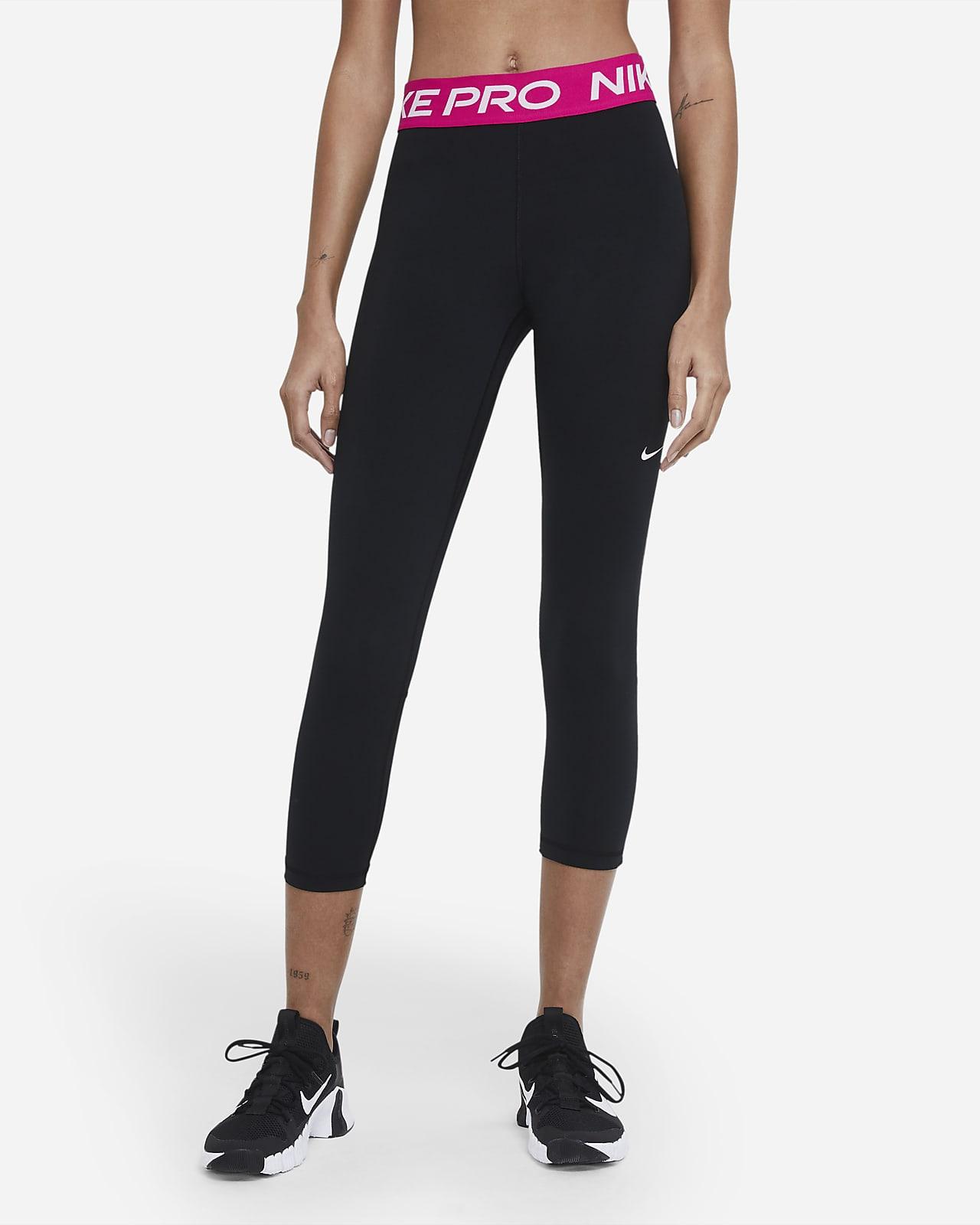Leggings cropped de tiro medio para mujer Nike Pro 365