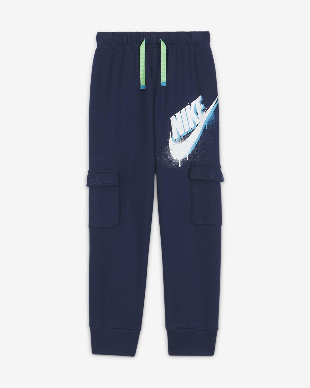 Nike Little Kids' Cargo Joggers. Nike.com