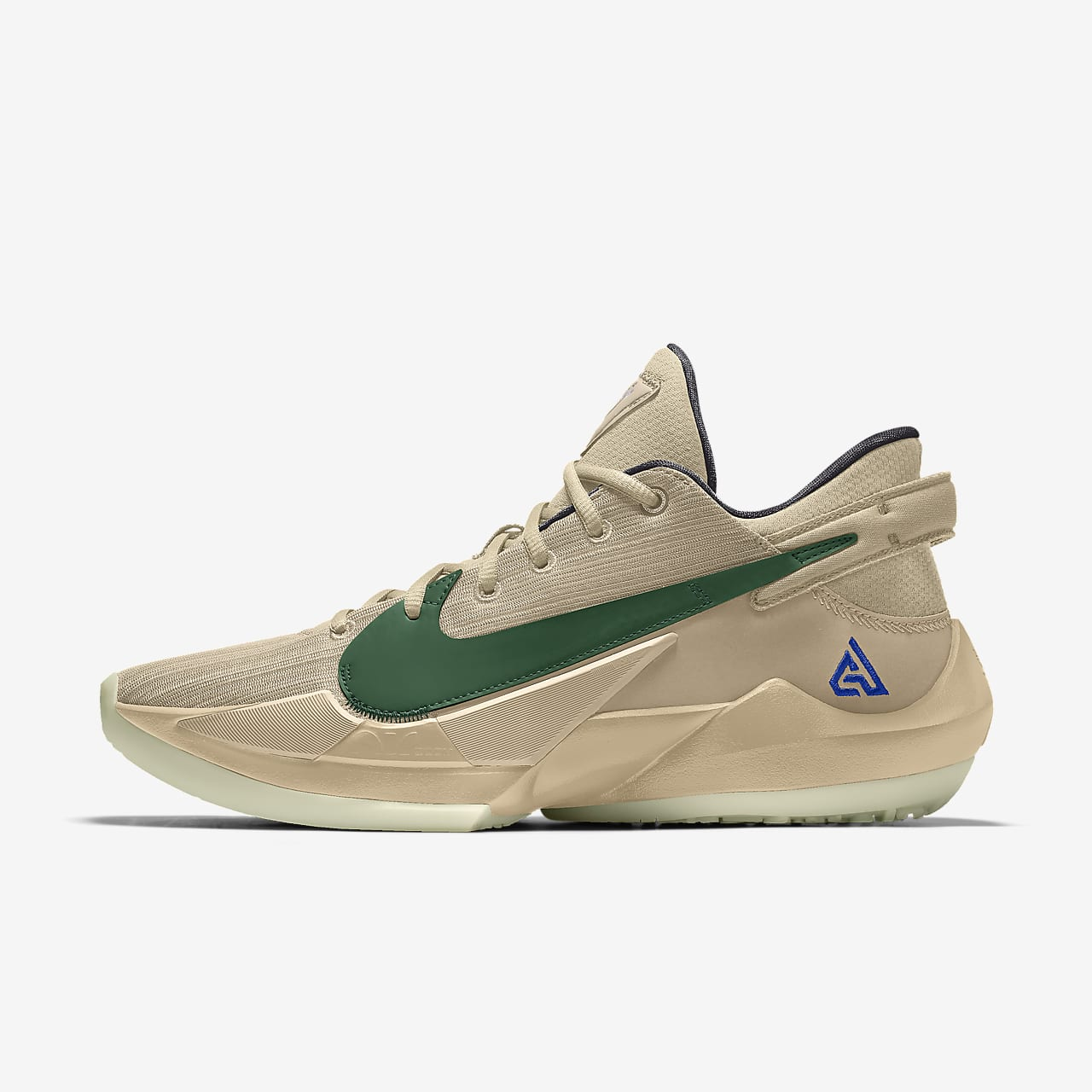 Chaussure de basketball personnalisable Zoom Freak 2 Nike By You