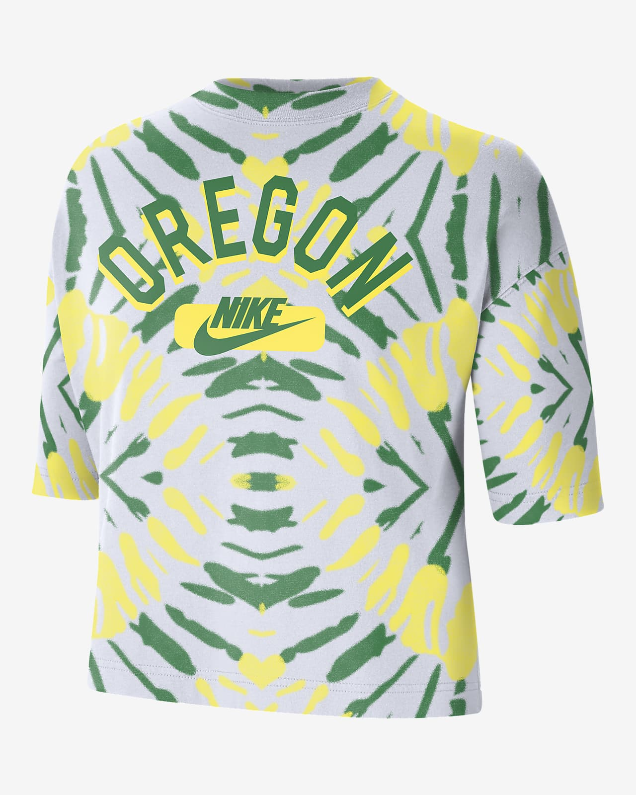 Nike College (Oregon) Women's Boxy Printed T-Shirt