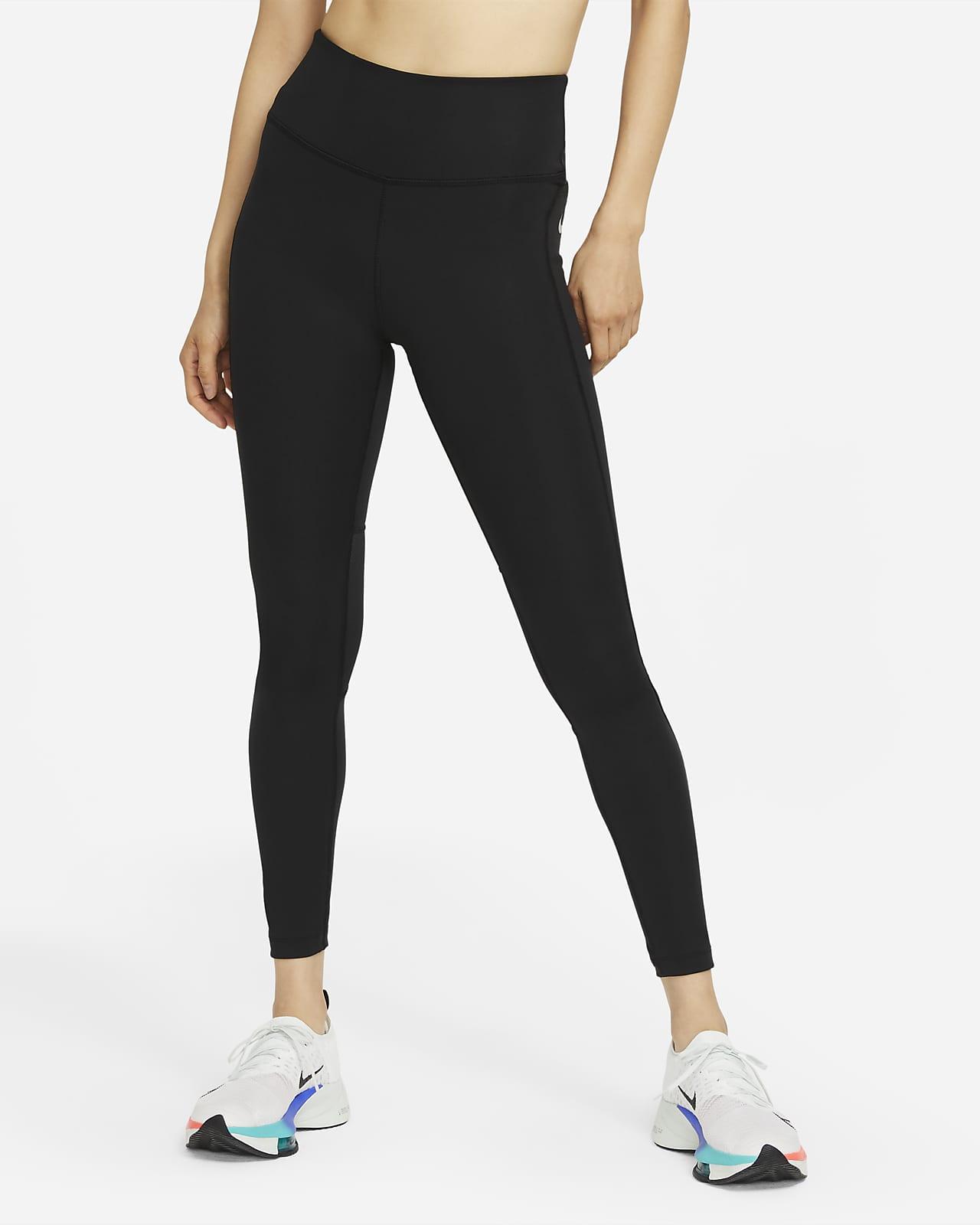 Leggings da running a vita media Nike Epic Fast - Donna