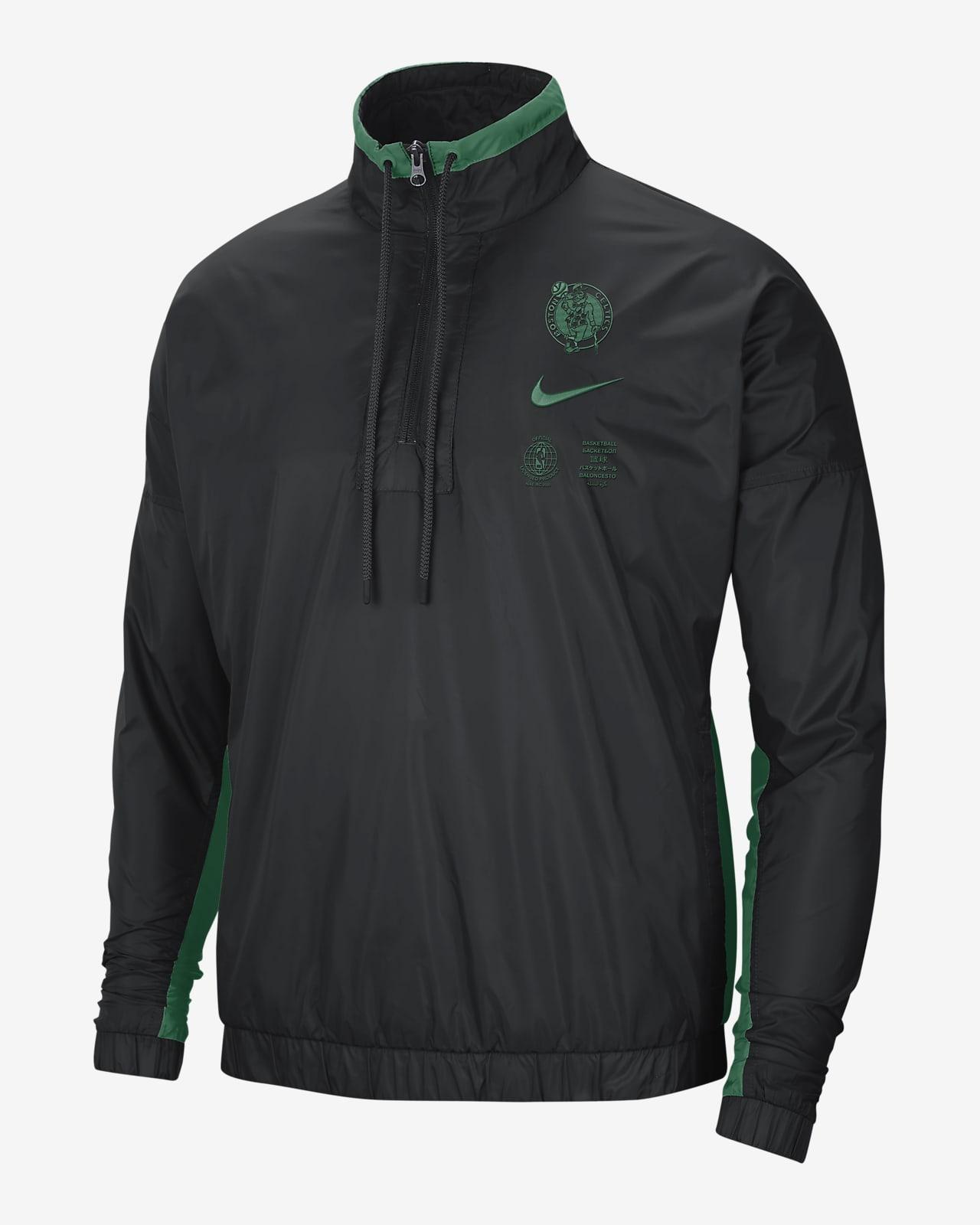 Boston Celtics Courtside Men's Nike NBA Tracksuit Jacket