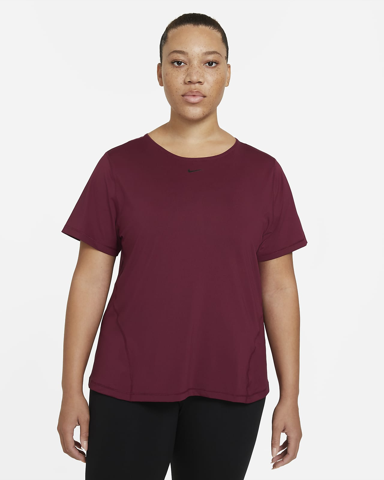 Top in mesh Nike Pro - Donna (Plus Size)