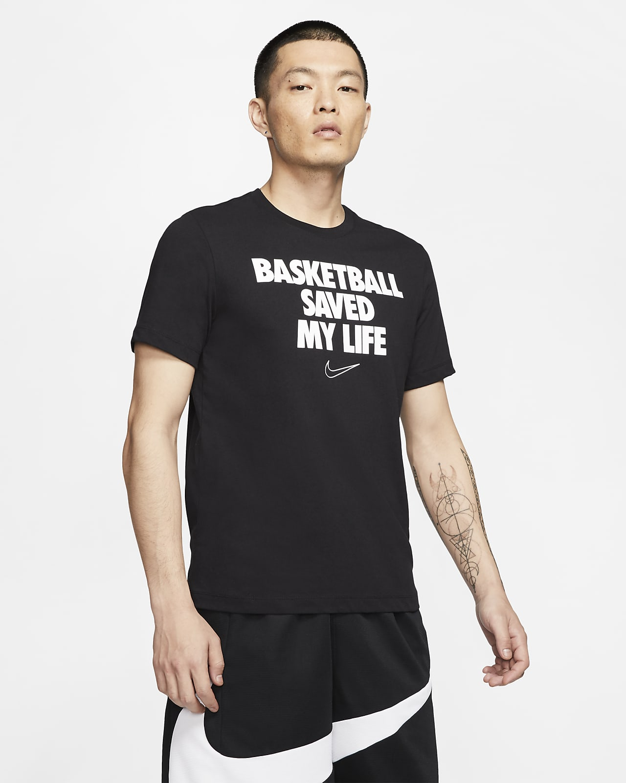 "Nike Dri-FIT ""My Life"" 男款籃球 T 恤"