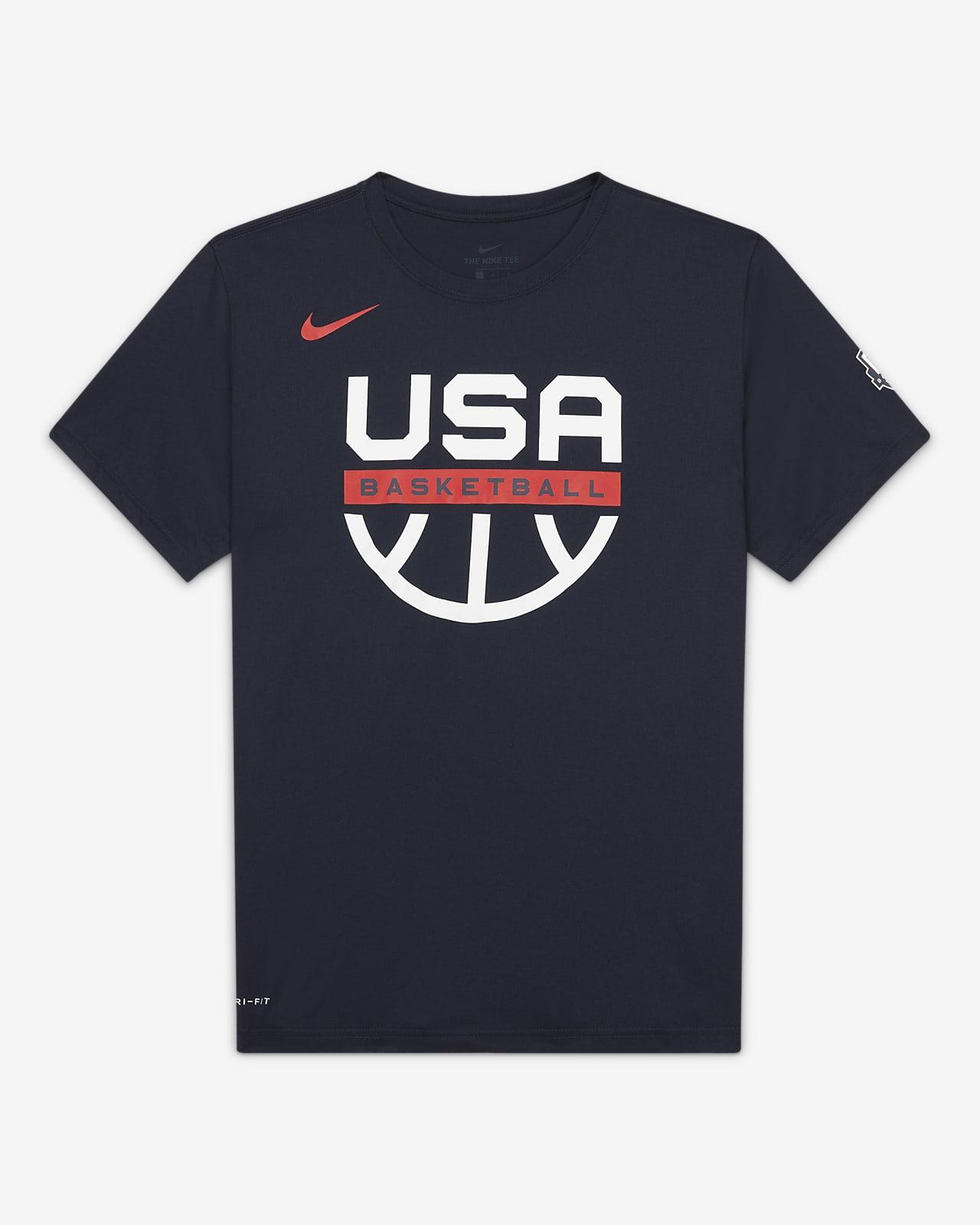 Playera de práctica de básquetbol para hombre USAB Nike Dri-FIT