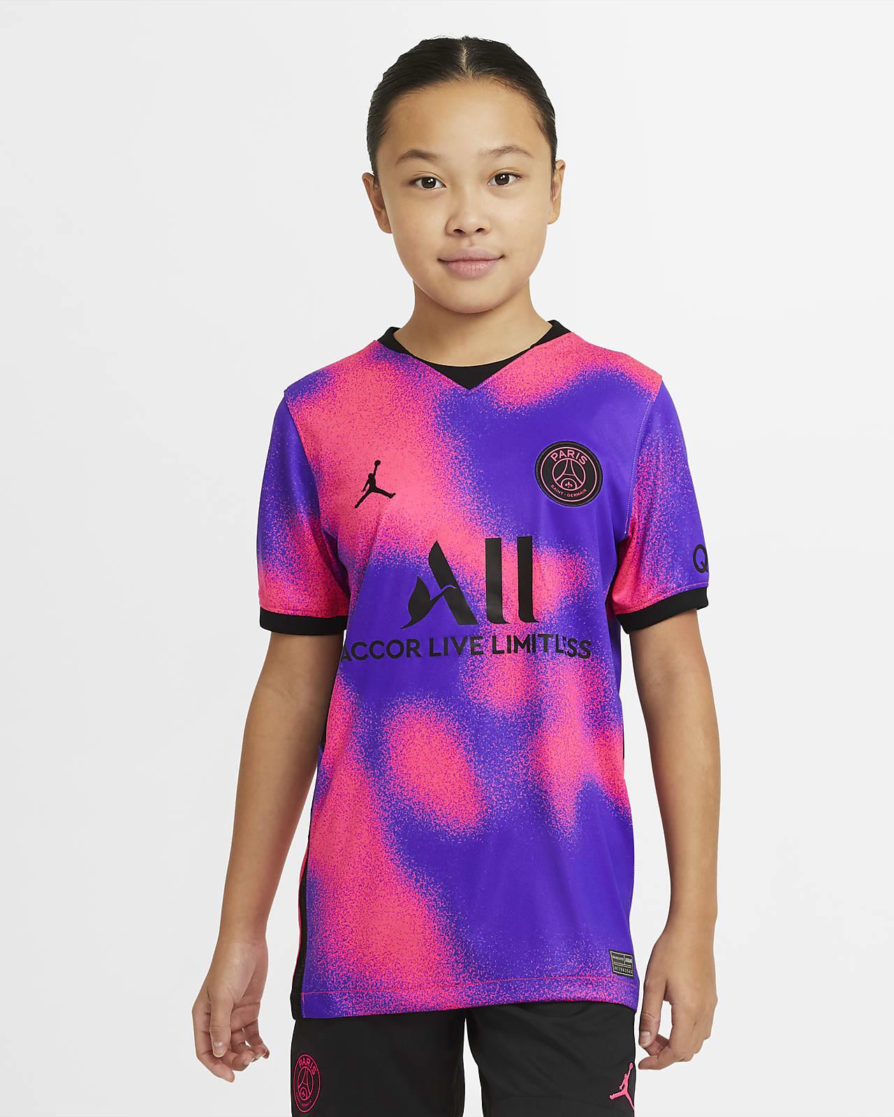 4e maillot de football Paris Saint-Germain 2020/21 Stadium pour Enfant plus âgé