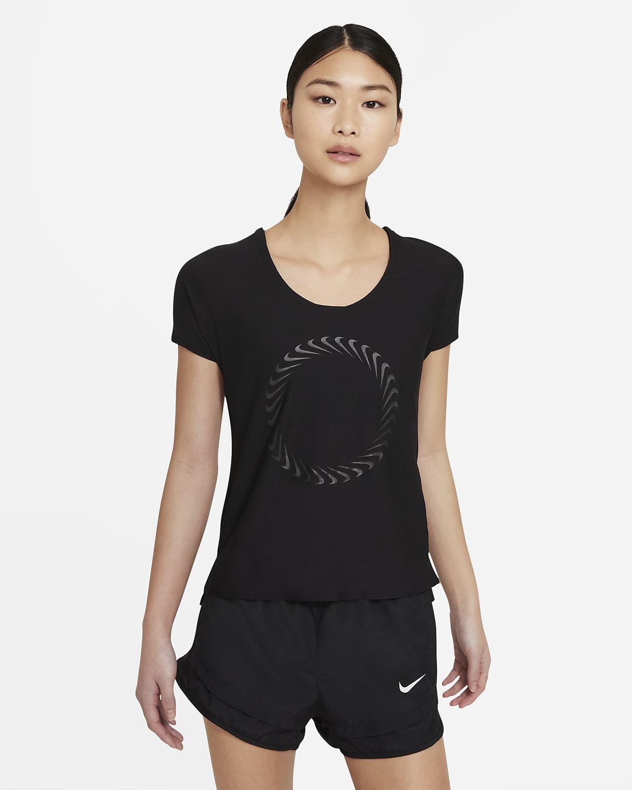 Nike Icon Clash Miler Women's Short-Sleeve Running Top