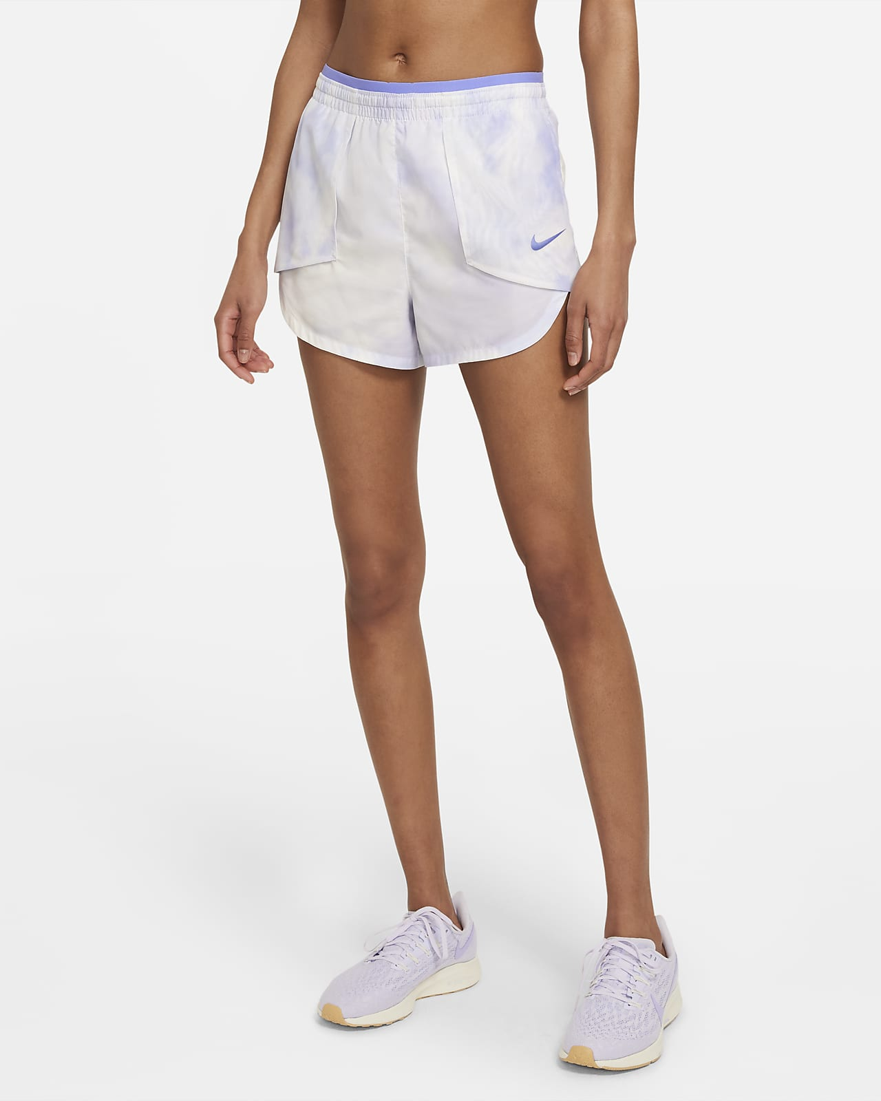 Shorts de running para mujer Nike Tempo Luxe Icon Clash