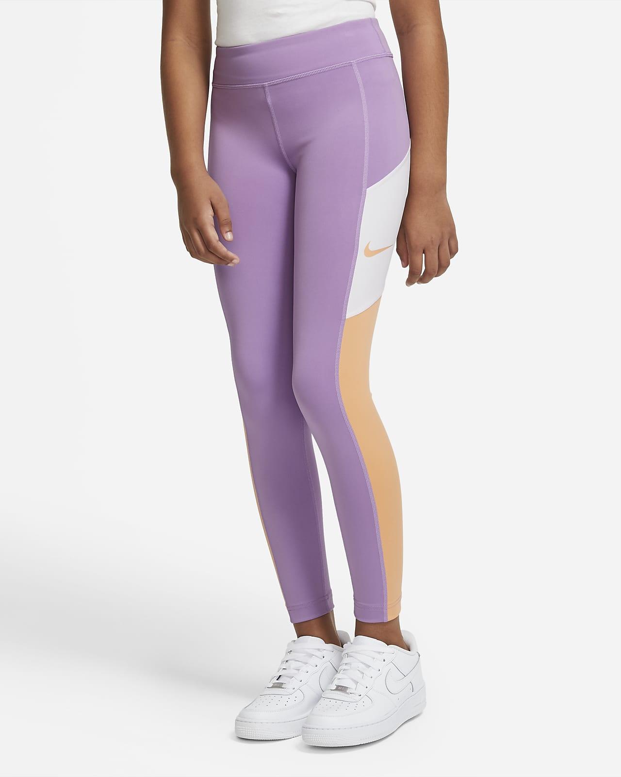 propiedad Ligeramente Invalidez  Leggings Nike color morado Mallas para chicas talla 3 años Ropa  theaccountant.org.mt
