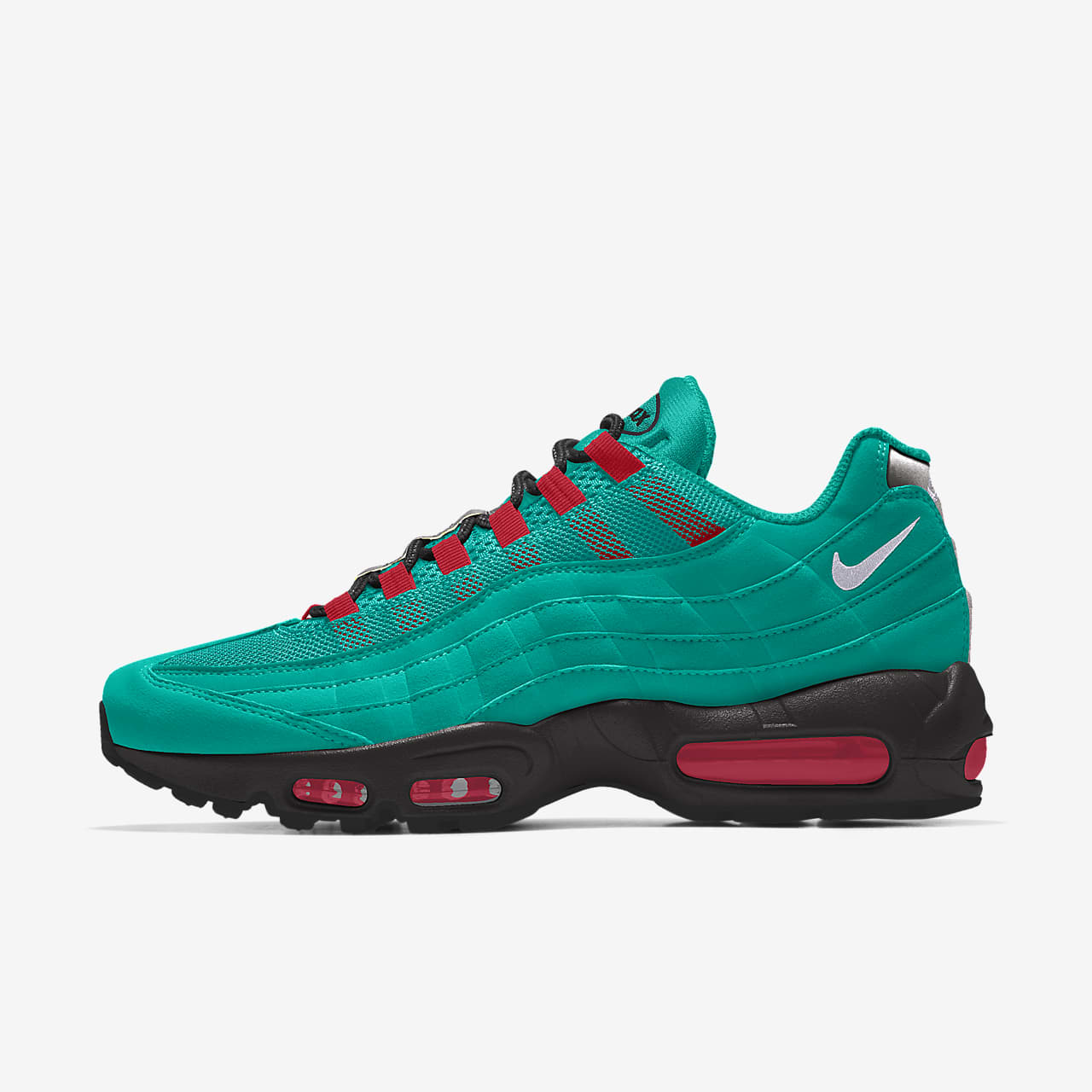 Nike Air Max 95 Unlocked By You personalisierbarer Schuh