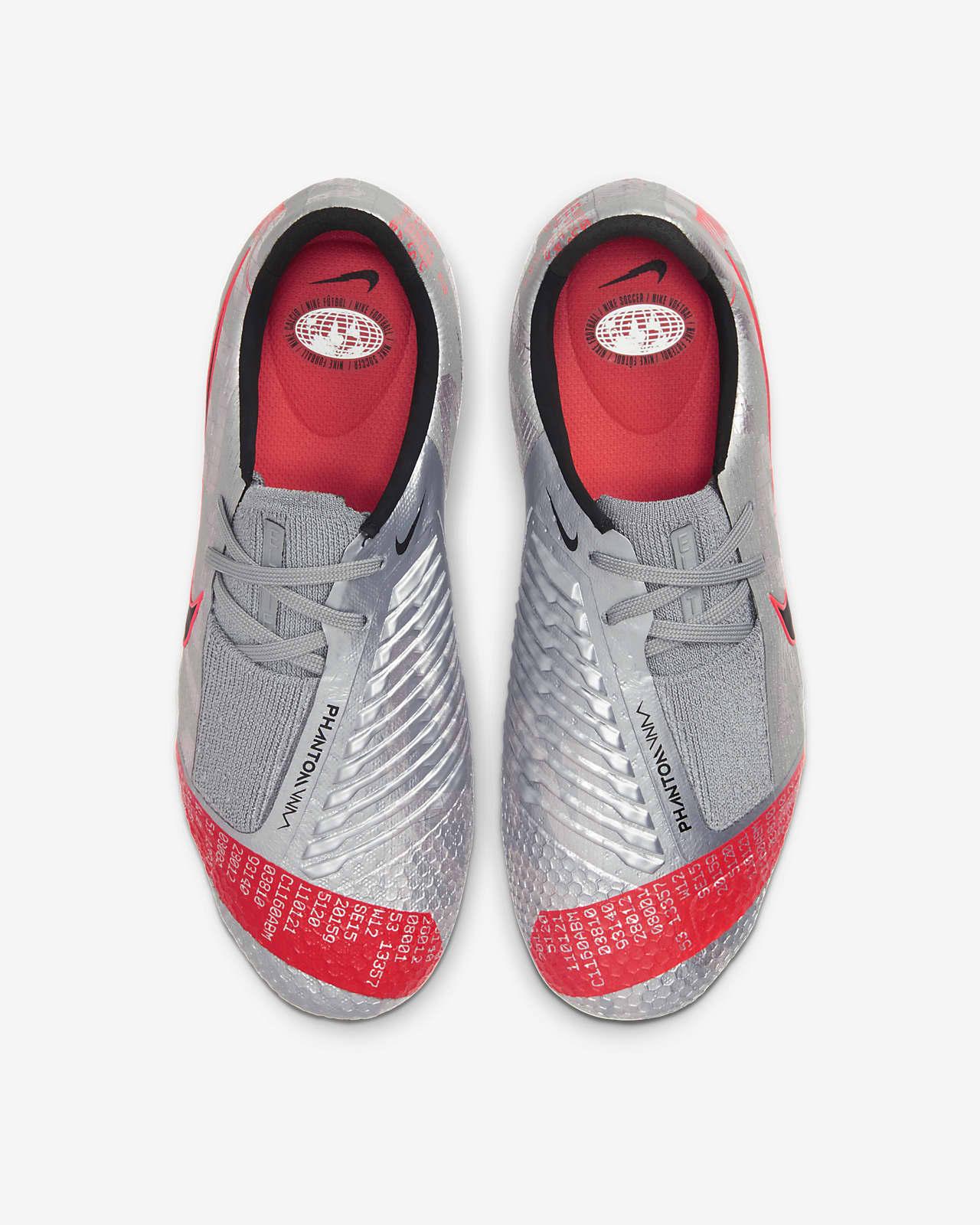 Chaussure de football à crampons pour terrain sec Nike Jr. Phantom Venom Elite FG pour Enfant plus âgé