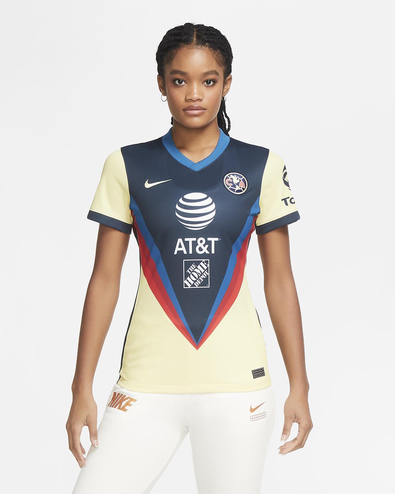 Club América 2020/21 Stadium Home Women's Soccer Jersey