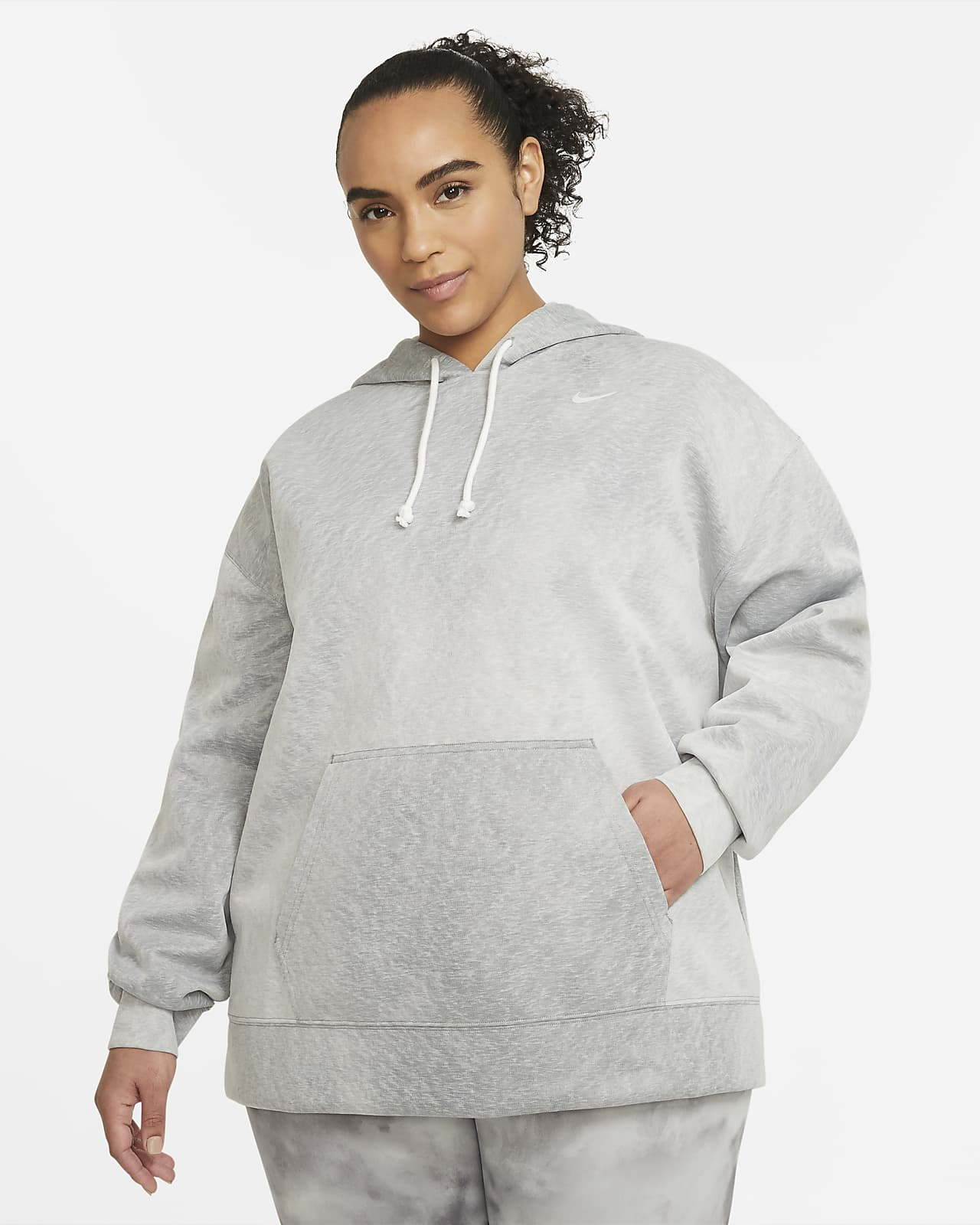 Nike Icon Clash Women's Pullover Training Hoodie (Plus Size)