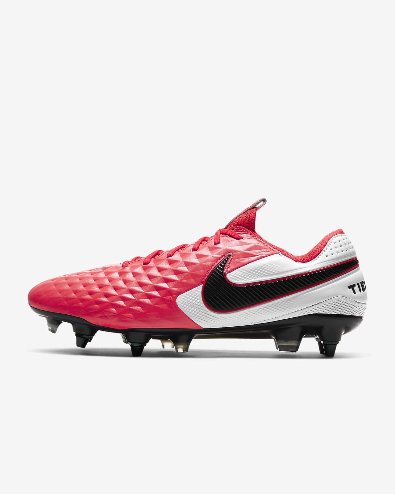 Chaussure de football à crampons pour terrain gras Nike Tiempo Legend 8 Elite SG PRO Anti Clog Traction