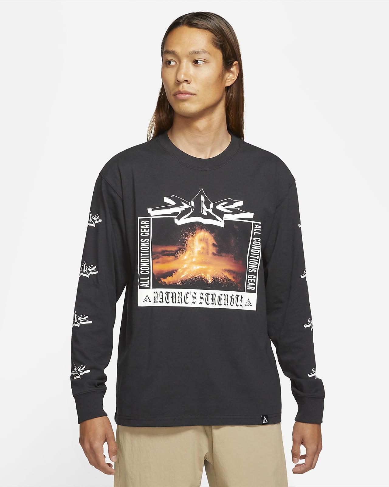"""ナイキ ACG """"Volcano"""" メンズ ロングスリーブ Tシャツ"""