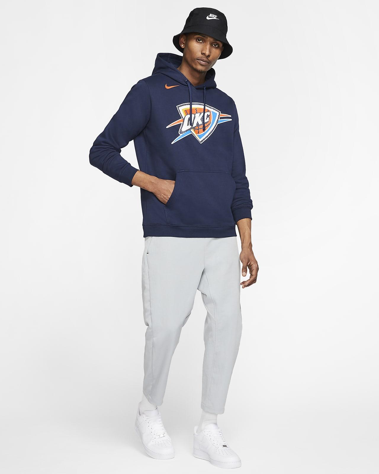 Sweat à capuche NBA Oklahoma City Thunder Nike pour Homme