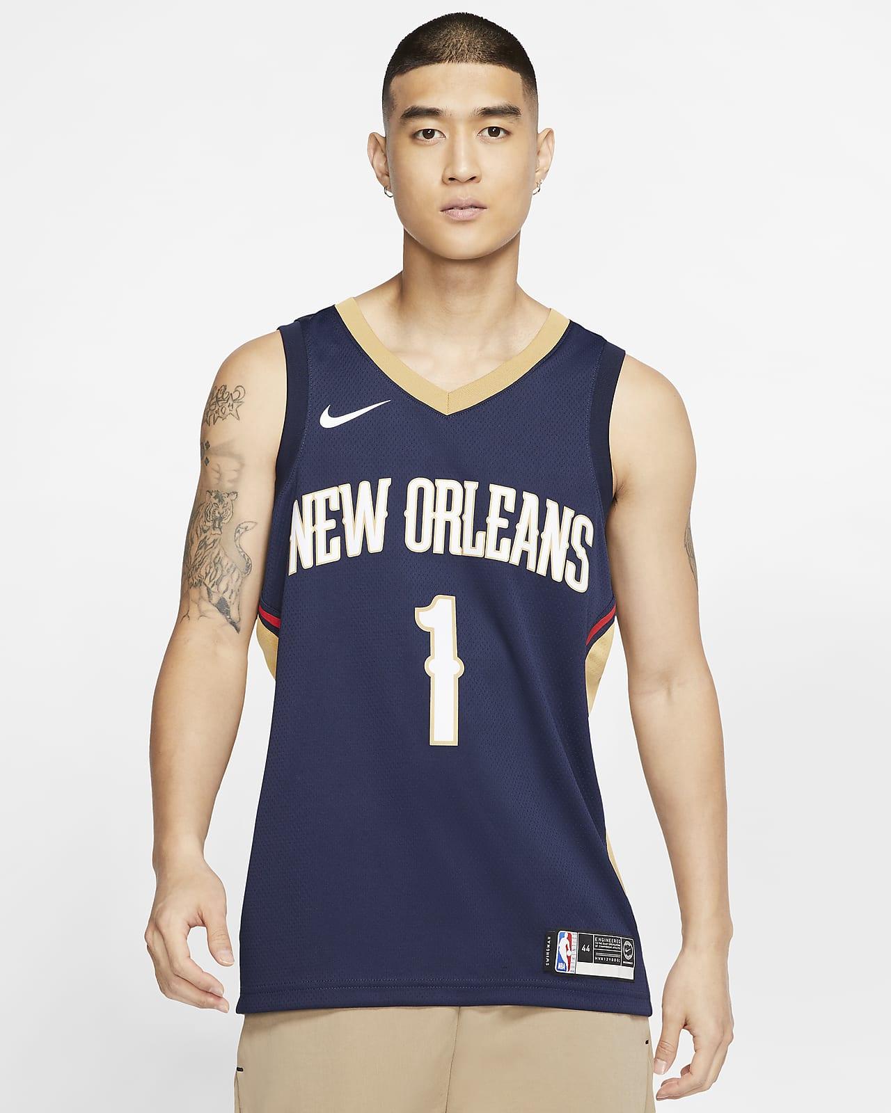 Camiseta Nike NBA Swingman para hombre Zion Williamson Pelicans Icon Edition