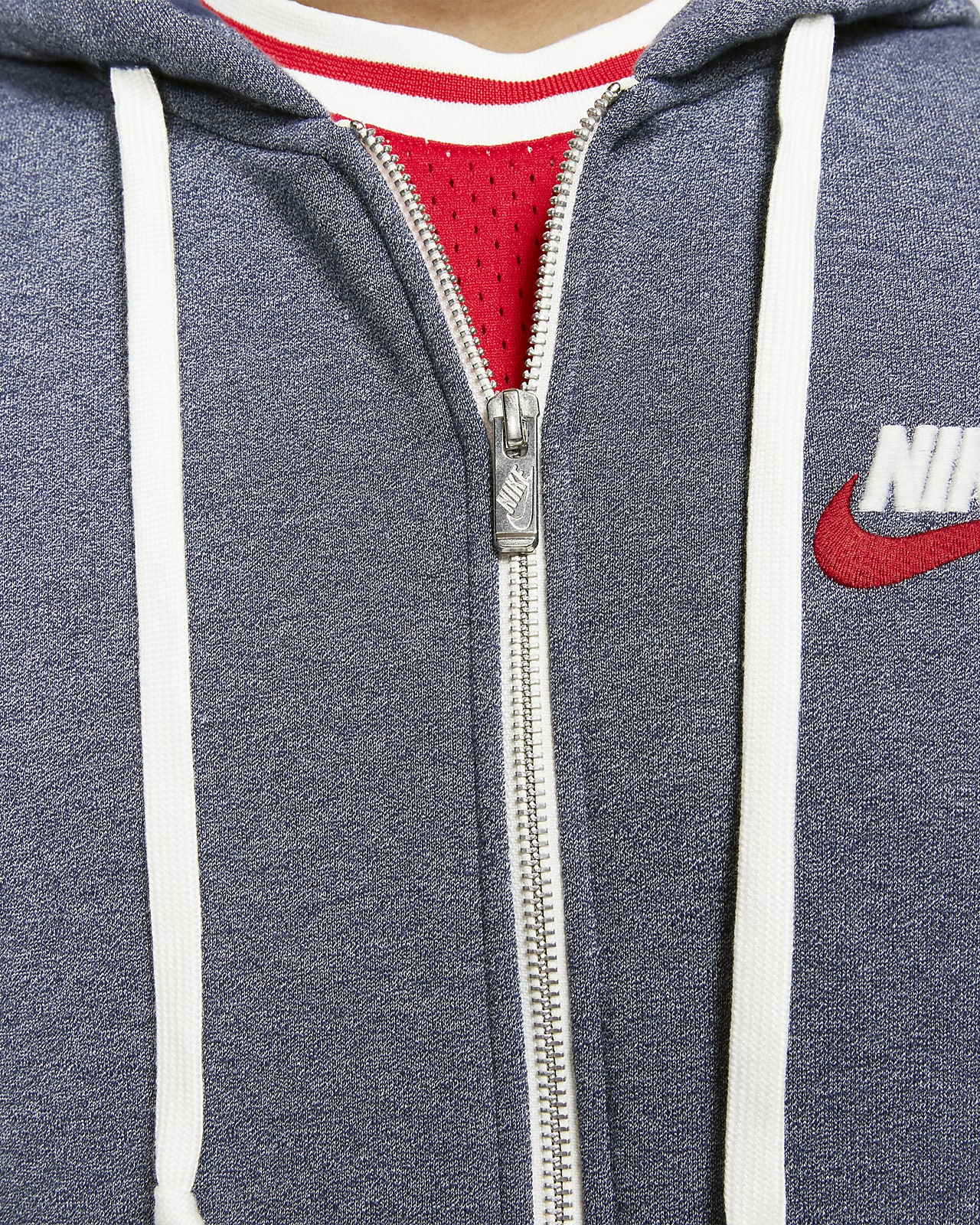 Sweat à capuche et zip Nike Sportswear Heritage pour Homme