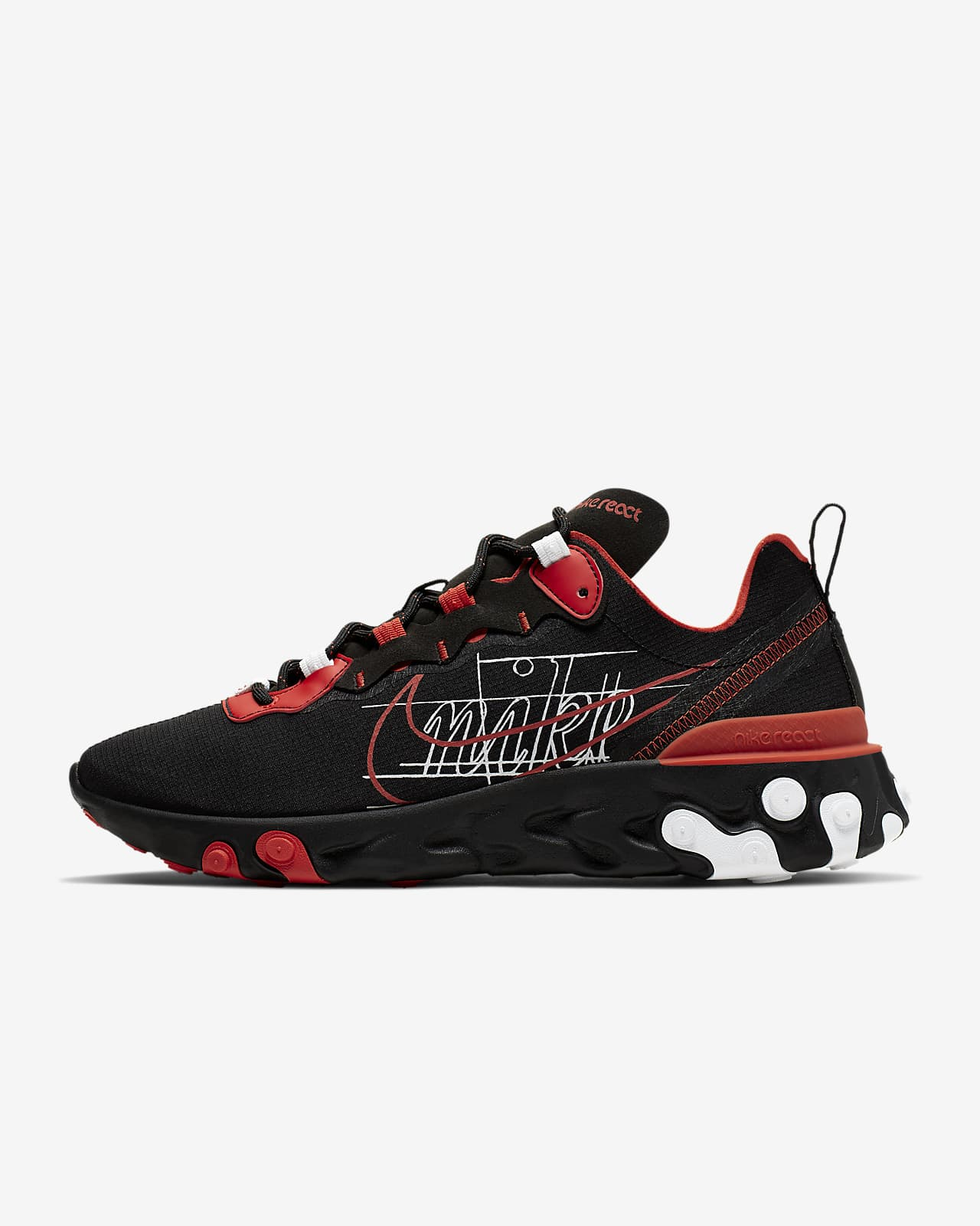 Chaussure Nike React Element 55 pour Homme. Nike LU