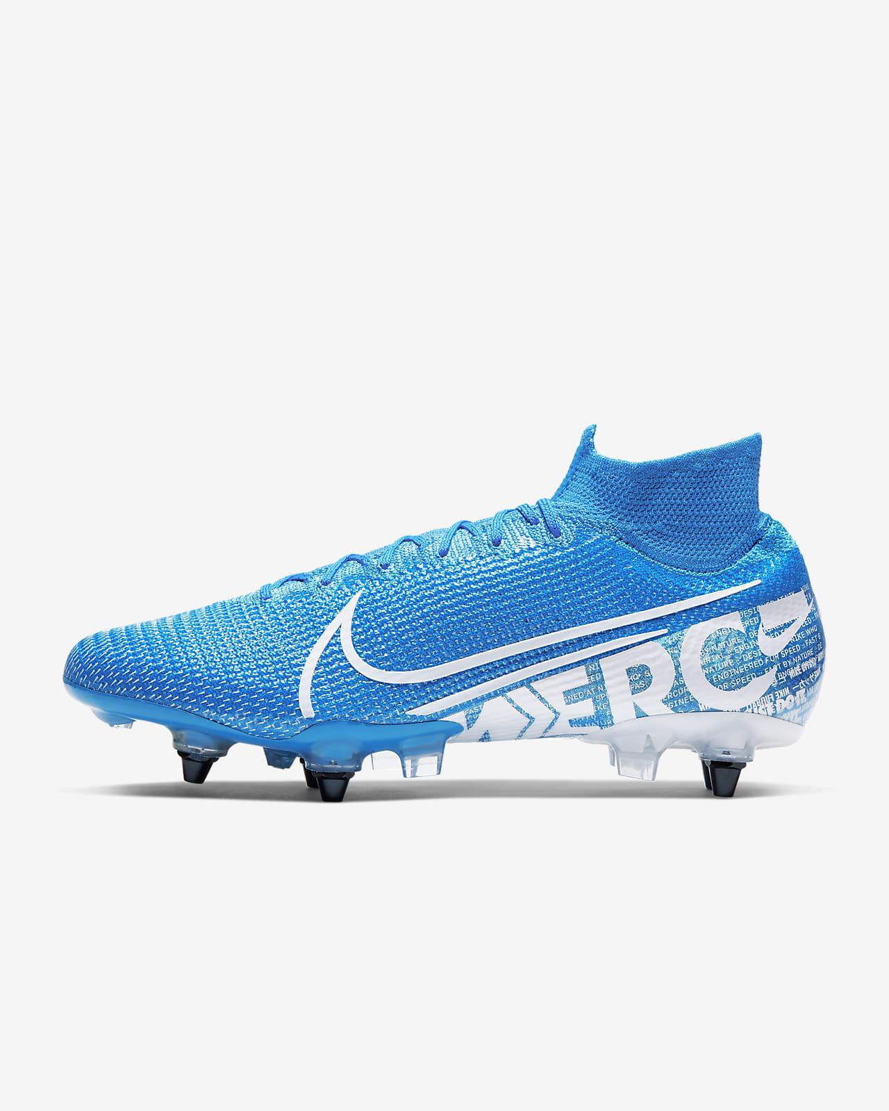 Футбольные бутсы для игры на мягком грунте Nike Mercurial Superfly 7 Elite SG-PRO Anti-Clog Traction
