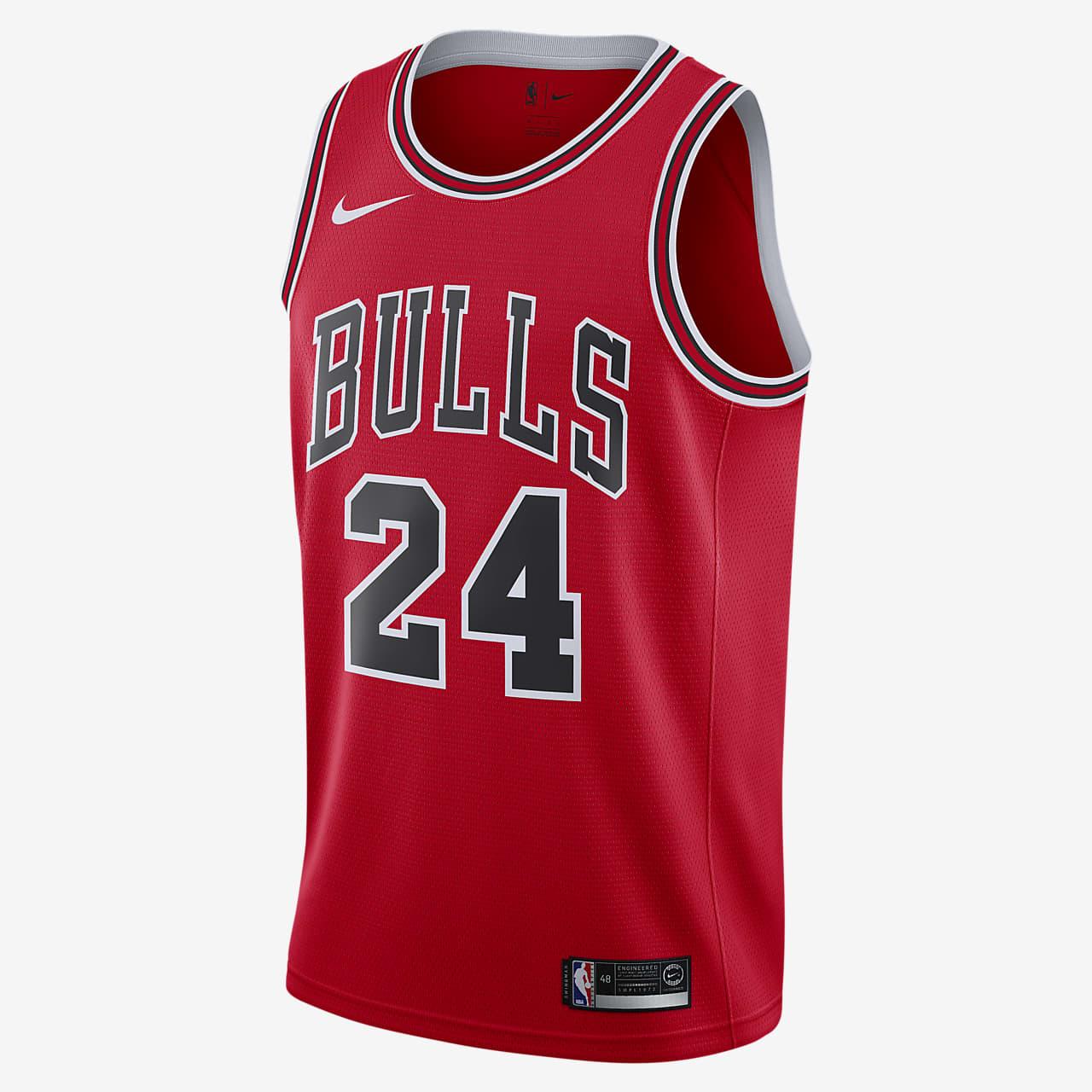 Ανδρική φανέλα Nike NBA Swingman Lauri Markkanen Bulls Icon Edition