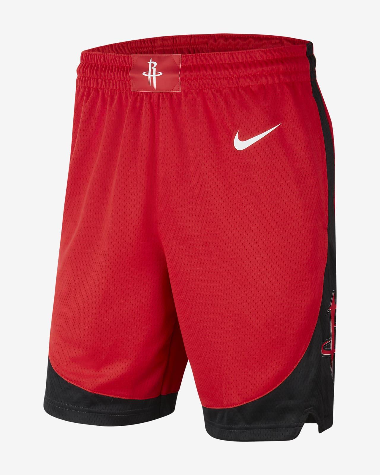 Męskie spodenki NBA Houston Rockets Nike Icon Edition Swingman