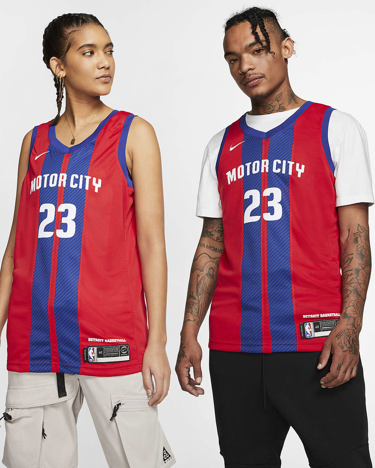 Blake Griffin Pistons – City Edition Nike NBA Swingman Jersey