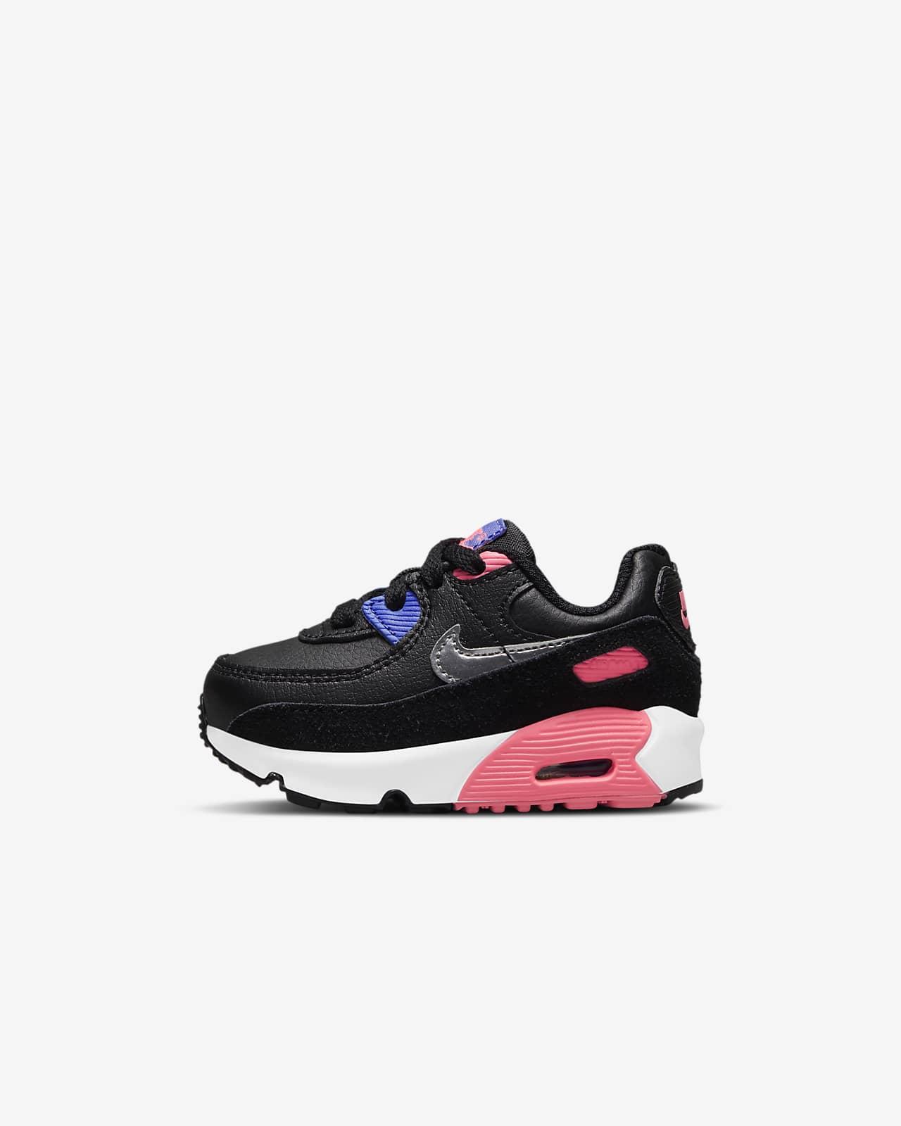 Chaussure Nike Air Max 90 pour Bébé et Petit enfant. Nike LU