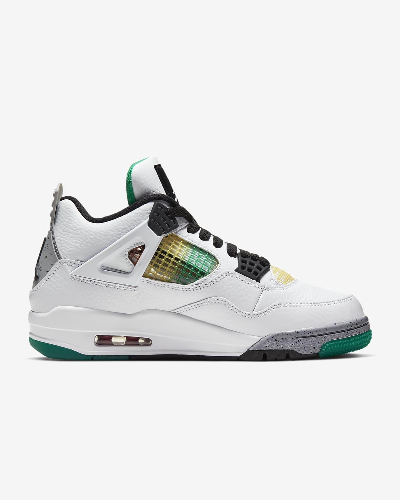 Air Jordan 4 Retro 女鞋。Nike TW