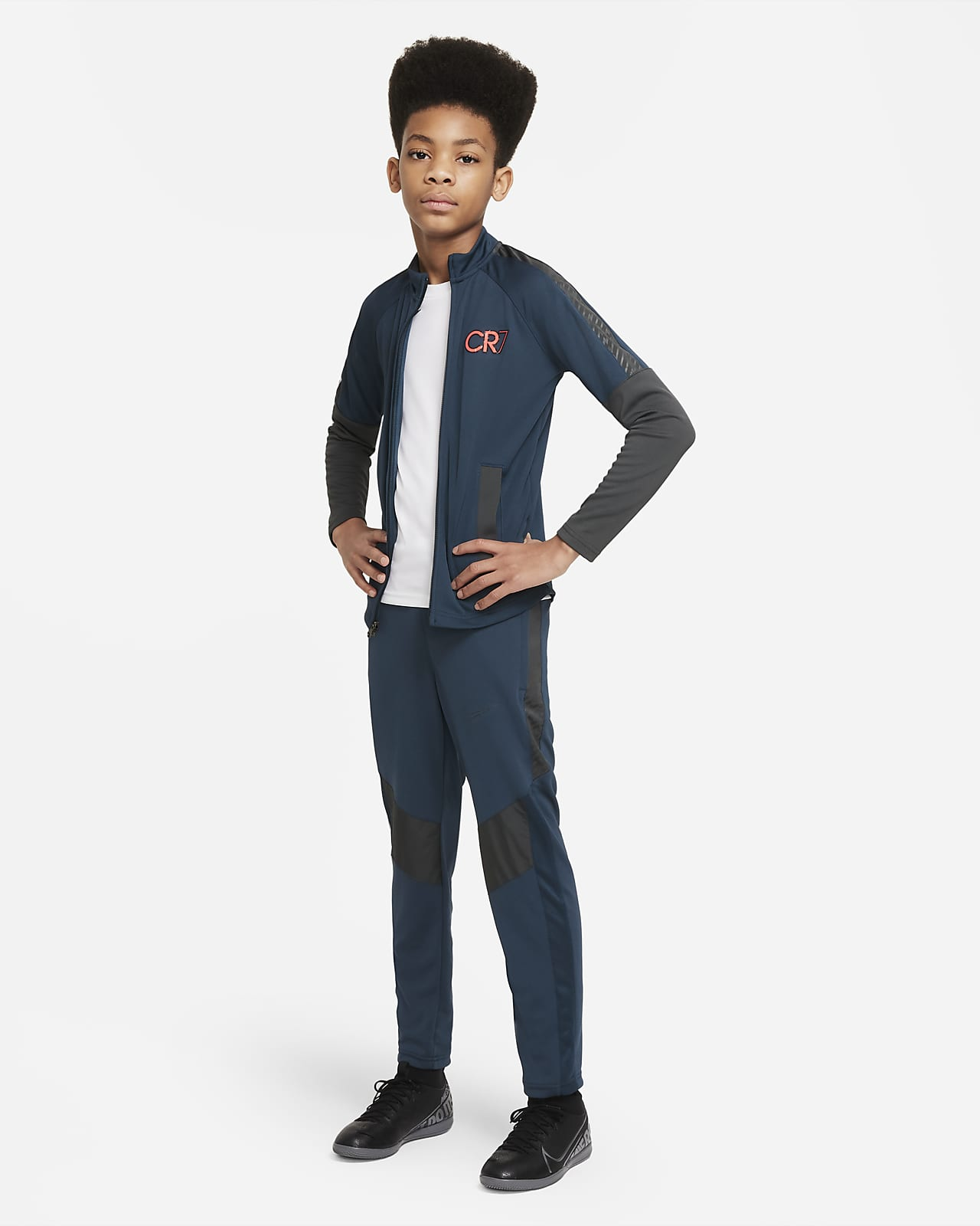 Nike Dri-FIT CR7 耐克C罗系列大童足球运动套装
