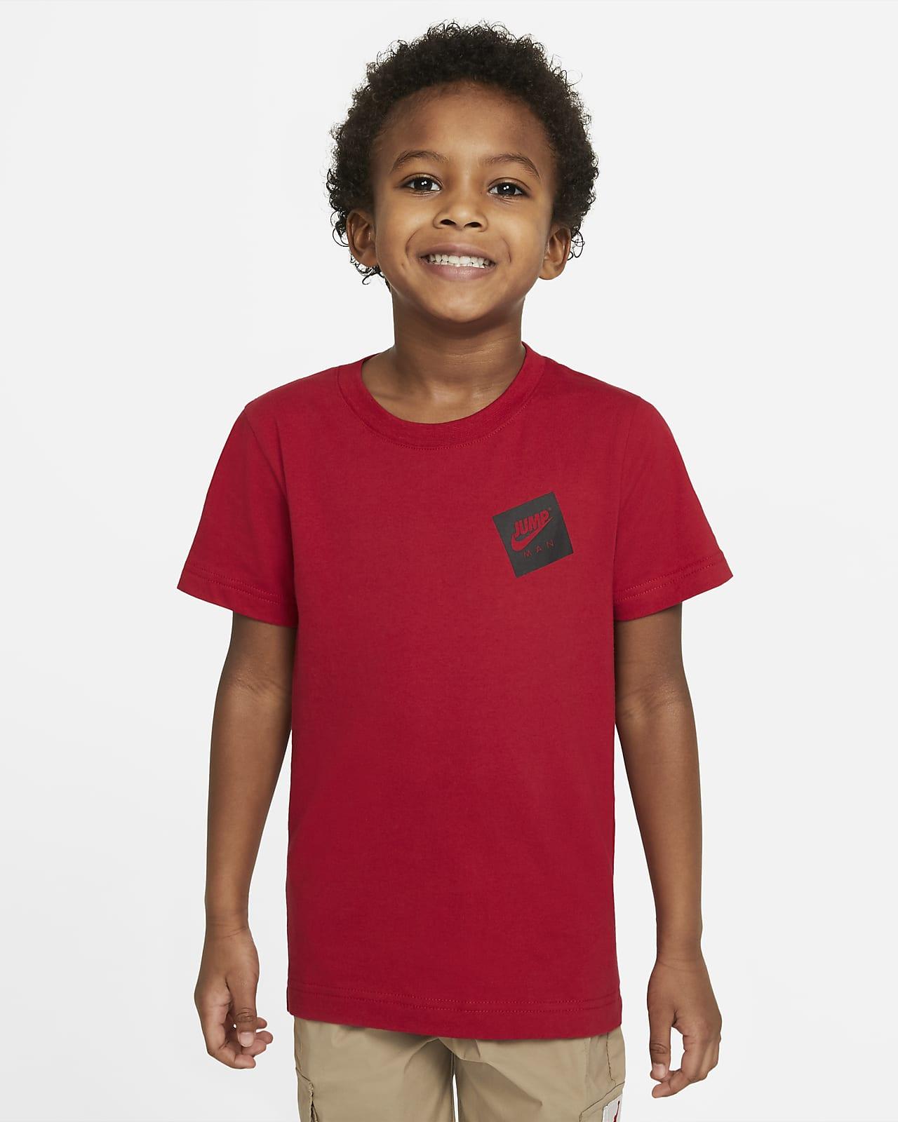 Playera para niño talla pequeña Jordan Jumpman
