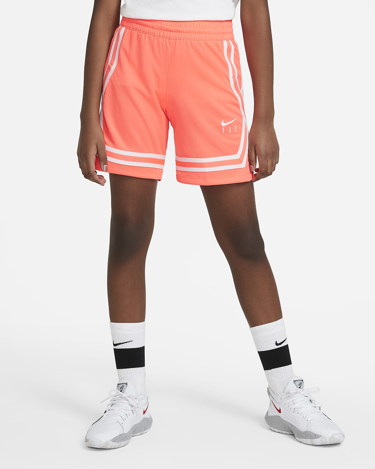 Nike Fly Crossover Big Kids' (Girls') Training Shorts