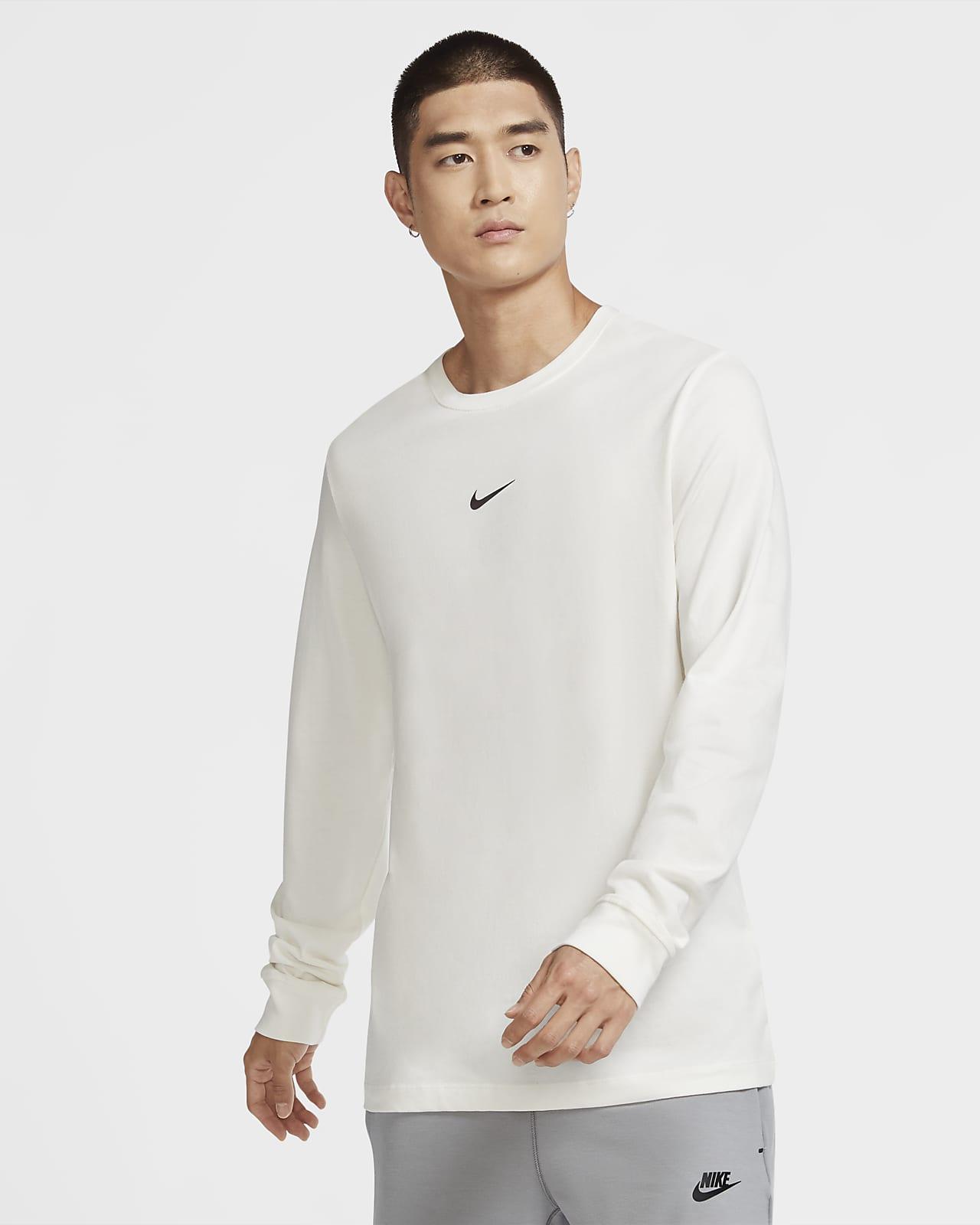 Nike Sportswear Swoosh langermet T-skjorte til herre