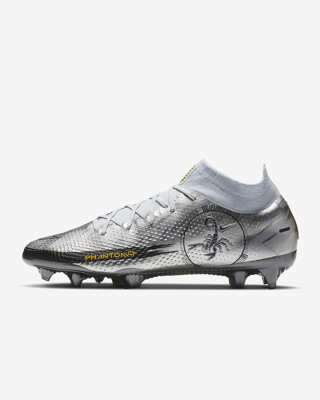 Chaussure de football à crampons pour terrain sec Nike Phantom Scorpion Elite Dynamic Fit FG