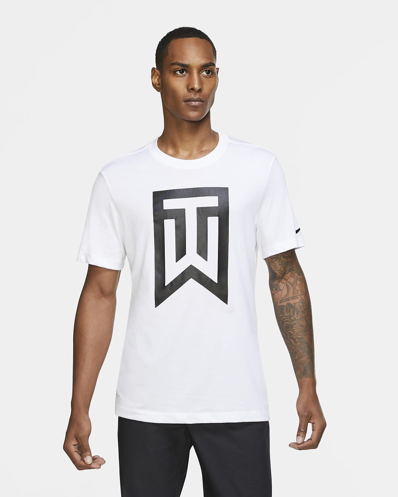 Tiger Woods Golf-T-Shirt mit Logo für Herren. Nike BE