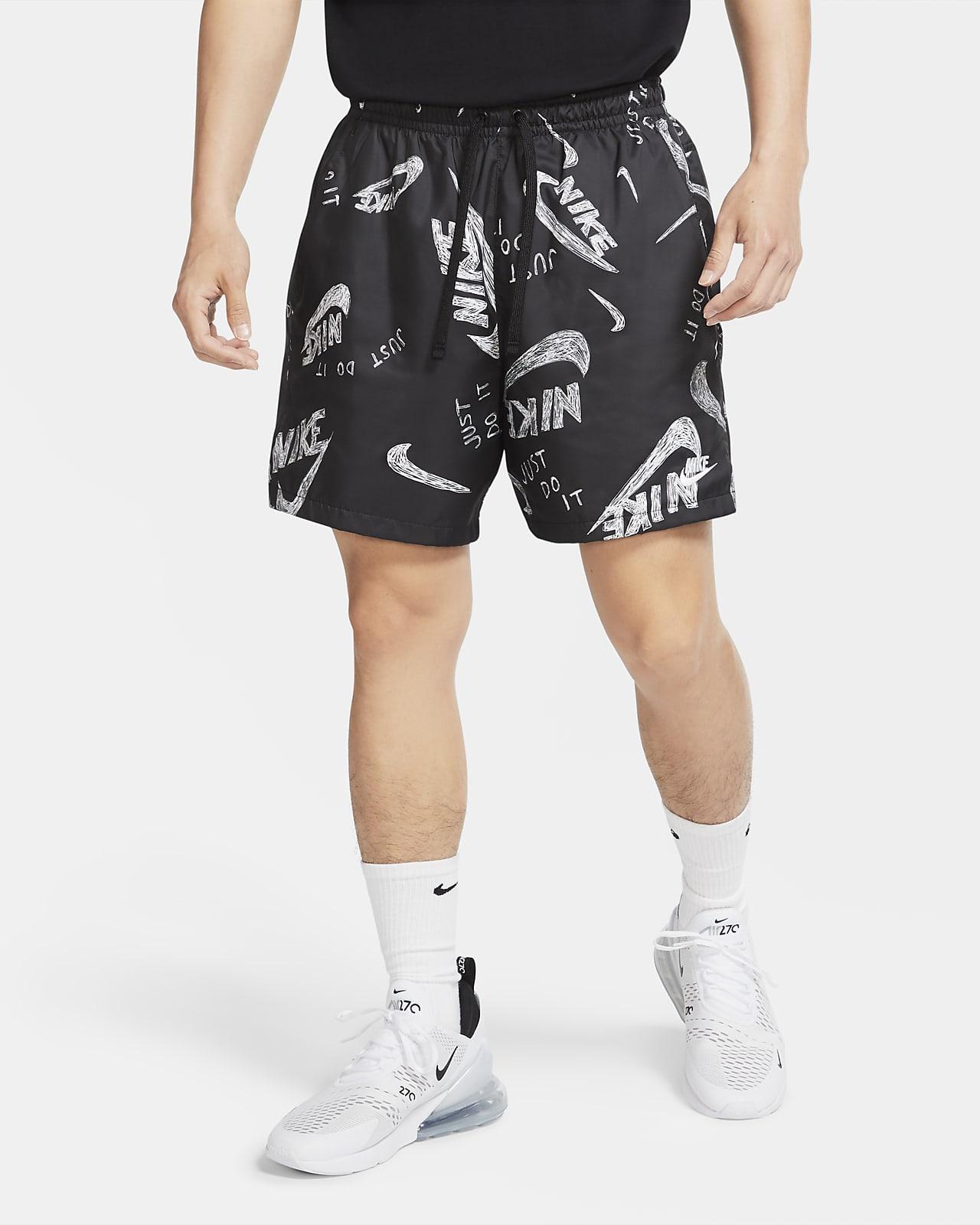 Shorts med tryck Nike Sportswear för män