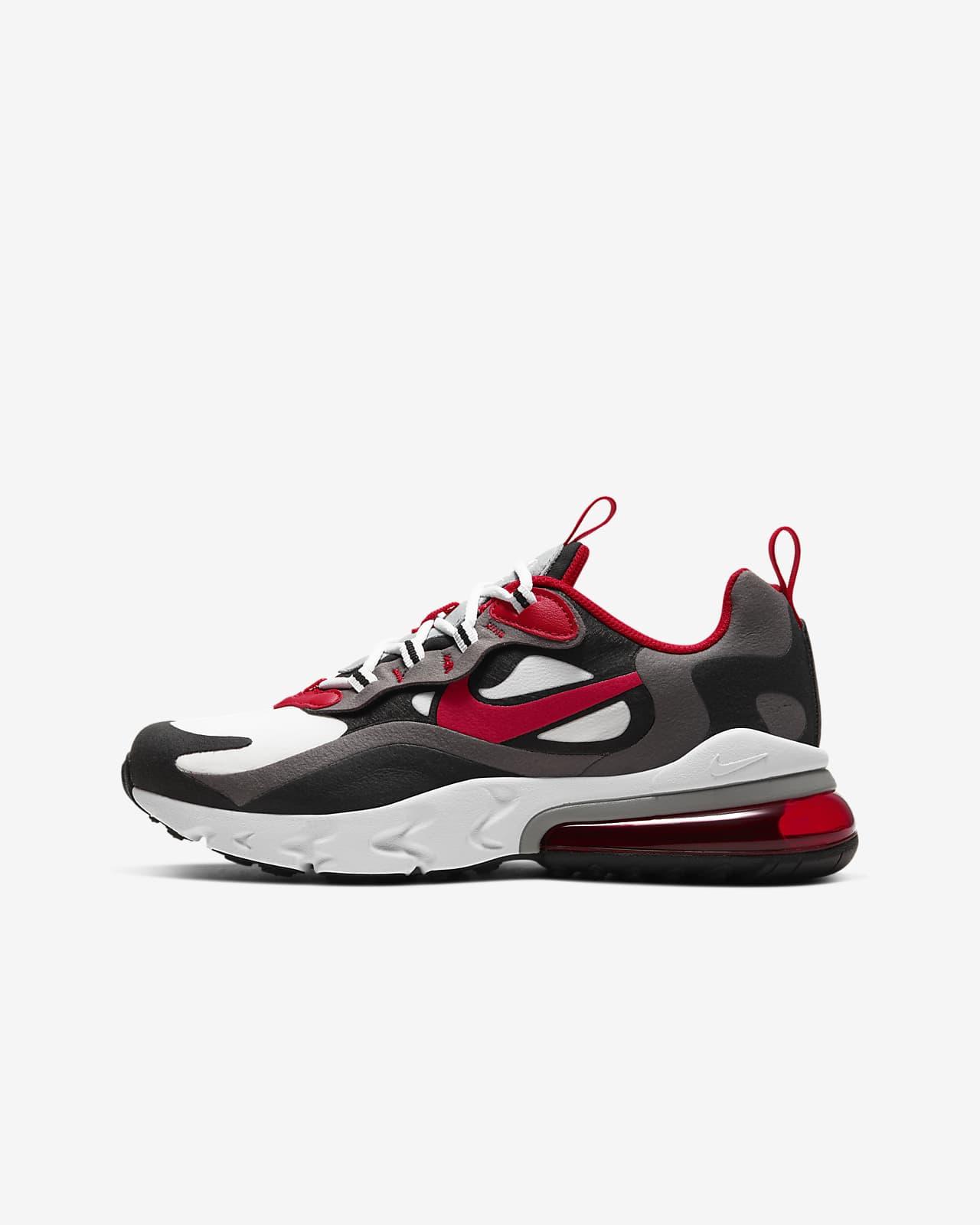 air max 270 rojo y negro