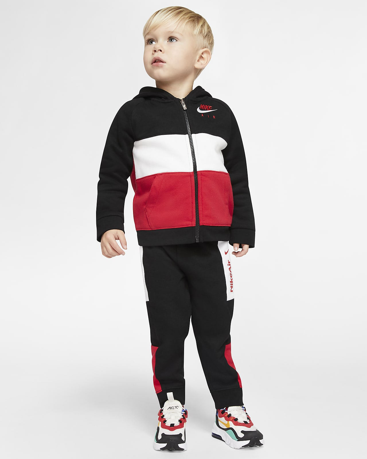 Nike Air Baby (12–24M) Hoodie and Joggers Set
