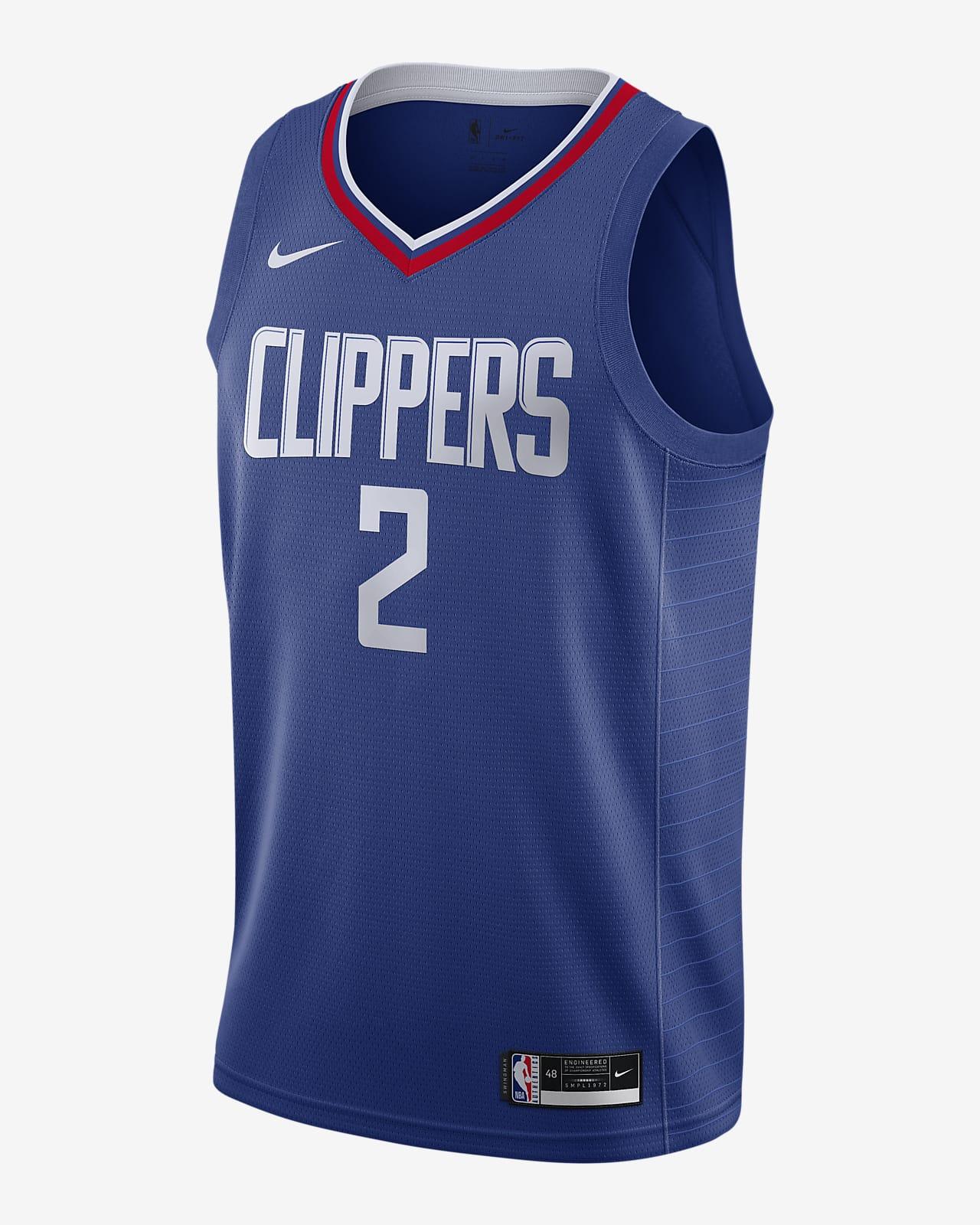 Kawhi Leonard Clippers Icon Edition 2020 Nike NBA Swingman Trikot