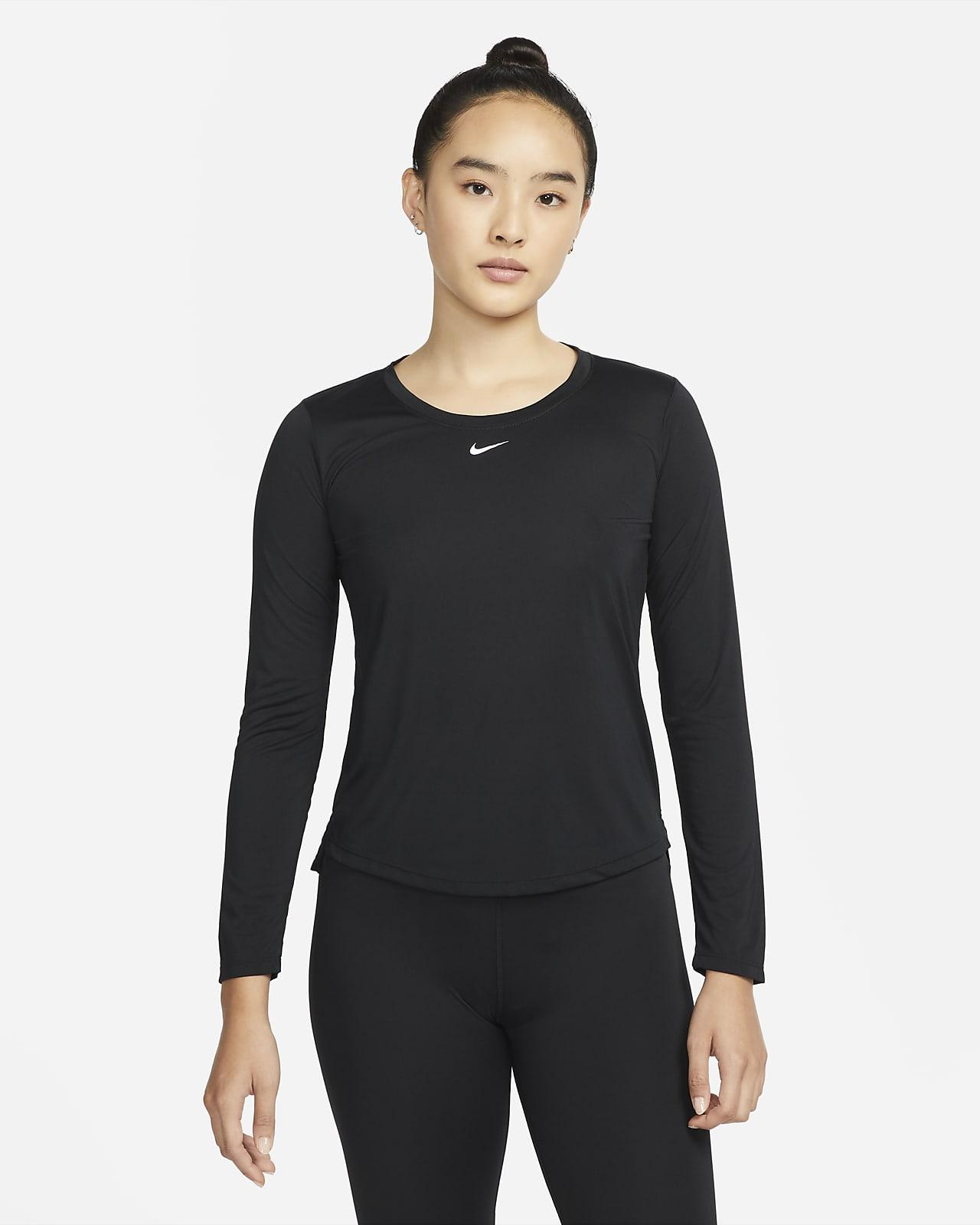 เสื้อผู้หญิงแขนยาวทรงมาตรฐาน Nike Dri-FIT One